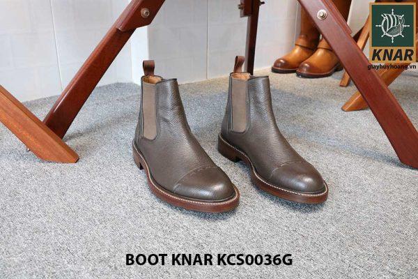 [Outlet size 42] Giày Chelsea Boot thun Knar KCS0036G 001