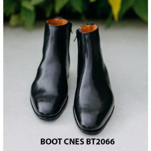 Giày tây Boot cổ cao đơn giản CNES B62066 001