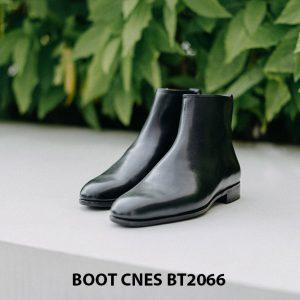 Giày tây Boot cổ cao đơn giản CNES BT2066 005
