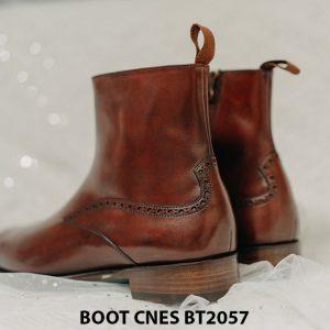 Giày Boot dây kéo nam CNES BT2057 009