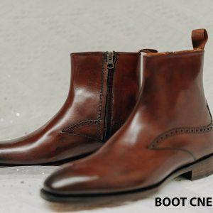 Giày Boot dây kéo nam CNES BT2057 001