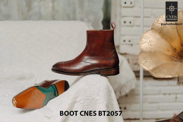 Giày Boot dây kéo nam CNES BT2057 007
