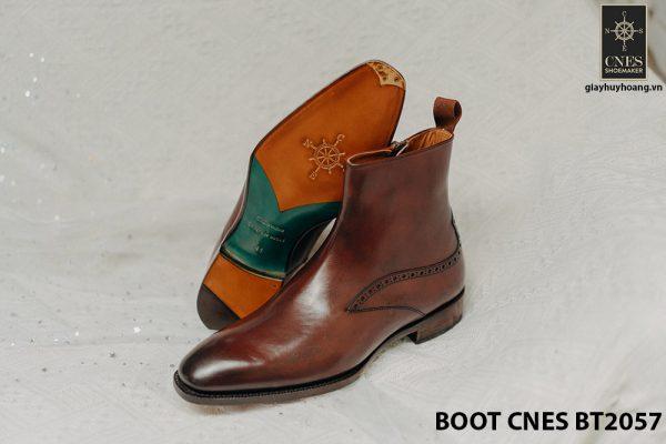 Giày Boot dây kéo nam CNES BT2057 006