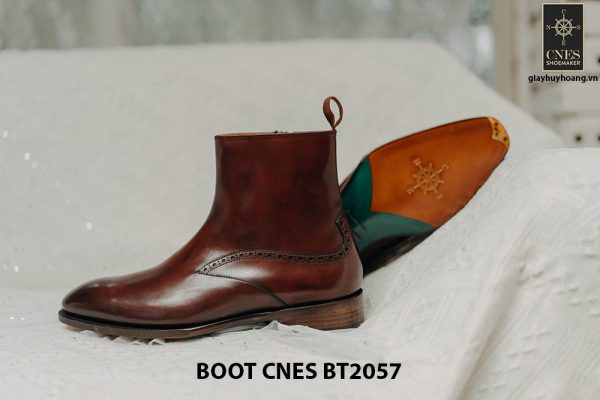 Giày Boot dây kéo nam CNES BT2057 005