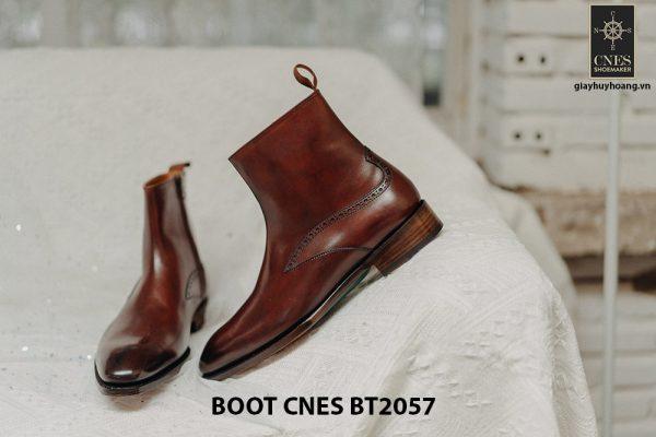 Giày Boot dây kéo nam CNES BT2057 004