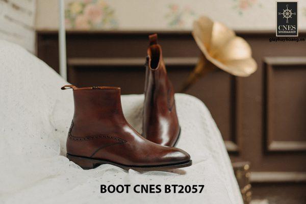 Giày Boot dây kéo nam CNES BT2057 003
