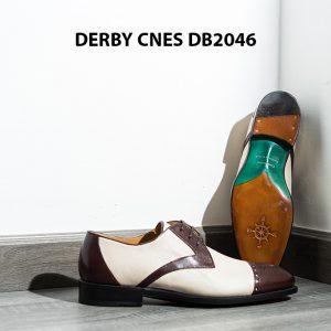 Giày da nam hai màu Derby CNES DB2046 005