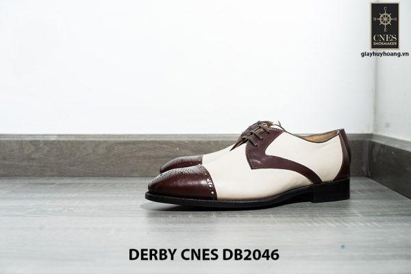 Giày da nam hai màu Derby CNES DB2046 004