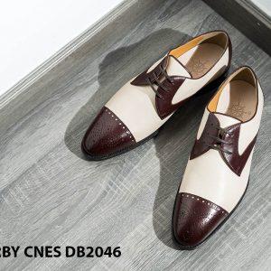 Giày da nam hai màu Derby CNES DB2046 001