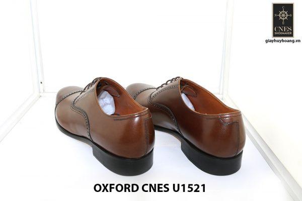 [Outlet size 45] Giày tây nam sang trọng Oxford Cnes U1521 001