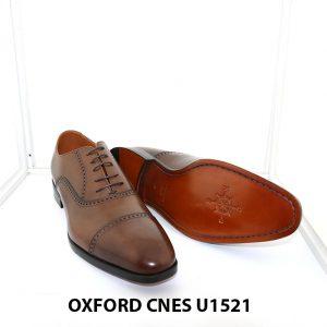 [Outlet size 45] Giày tây nam sang trọng Oxford Cnes U1521 002