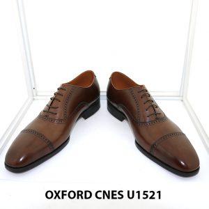 [Outlet size 45] Giày tây nam sang trọng Oxford Cnes U1521 003