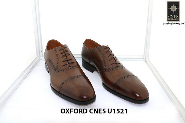 [Outlet size 45] Giày tây nam sang trọng Oxford Cnes U1521 004