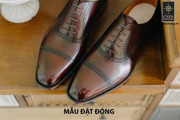 [Outlet size 43] Giày tây nam cao cấp Oxford Cnes UR191 001