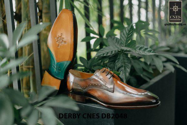 Giày tây nam mũi vuông Derby CNES DB2048 005