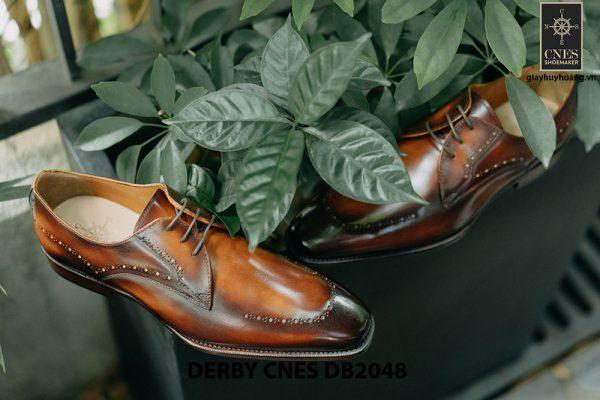 Giày tây nam mũi vuông Derby CNES DB2048 001