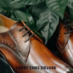Giày tây nam mũi vuông Derby CNES DB2048 003