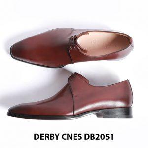 Giày tây nam da trơn Derby CNES DB2051 006