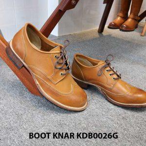 [Outlet size 43] Giày da nam Derby Knar KDB0026G 005