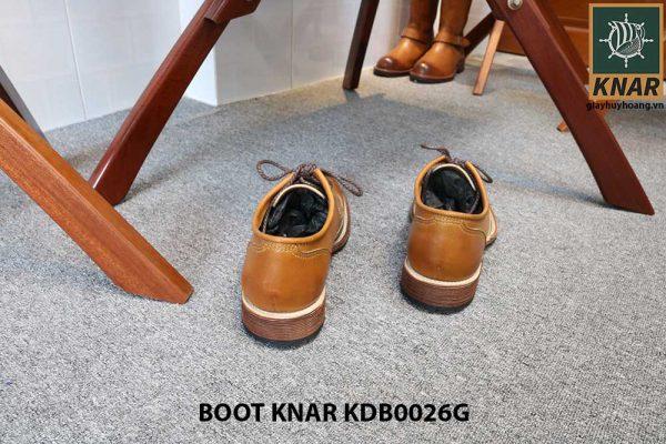 [Outlet size 43] Giày da nam Derby Knar KDB0026G 004