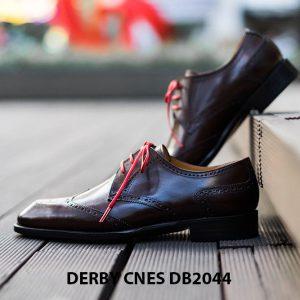 Giày tây nam Derby Wingtip CNES DB2044 004