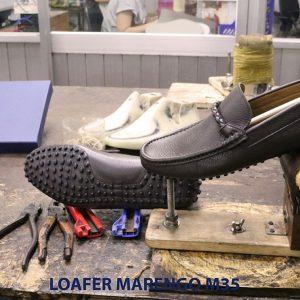 [Outlet size 40] Giày da nam lái xe moto Loafer Marengo M35 005