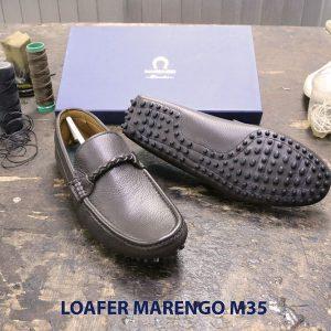 [Outlet size 40] Giày da nam lái xe moto Loafer Marengo M35 002