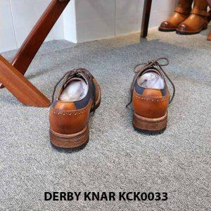 [Outlet size 42] Giày da nam đẹp Derby Knar KCK0033 004