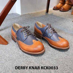 [Outlet size 42] Giày da nam đẹp Derby Knar KCK0033 001