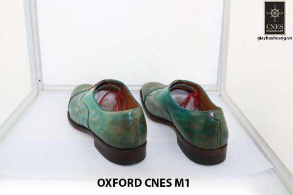 [Outlet size 40] Giày da nam xanh lá Oxford Cnes M1 008