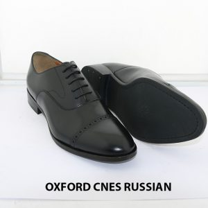 [Outlet size 37] Giày tây nam Oxford Captoe Cnes RUSSIAN 007