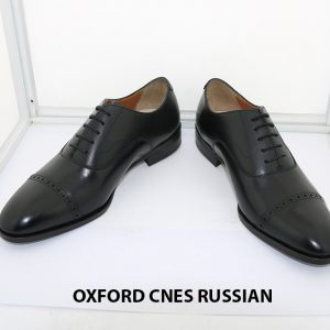 [Outlet size 37] Giày tây nam Oxford Captoe Cnes RUSSIAN 008