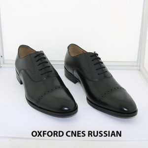 [Outlet size 37] Giày tây nam Oxford Captoe Cnes RUSSIAN 005