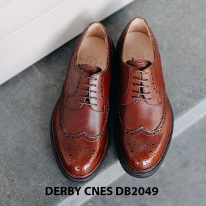 Giày tây nam Wingtip Derby CNES DB2049 001
