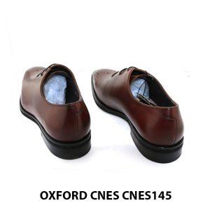 [Outlet] Giày da nam mũi hoa văn Oxford Cnes CNES145 004