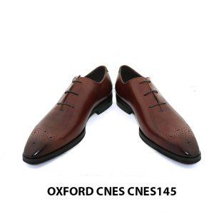 [Outlet] Giày da nam mũi hoa văn Oxford Cnes CNES145 003