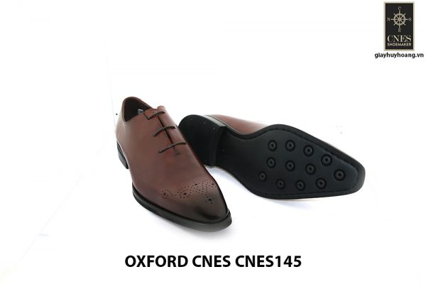 [Outlet] Giày da nam mũi hoa văn Oxford Cnes CNES145 009
