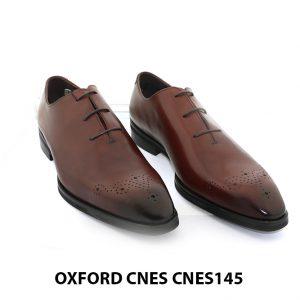 [Outlet] Giày da nam mũi hoa văn Oxford Cnes CNES145 001
