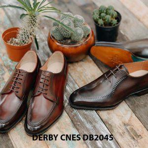 Giày da nam cột dây Derby CNES DB2045 005