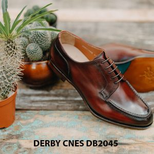 Giày da nam cột dây Derby CNES DB2045 002