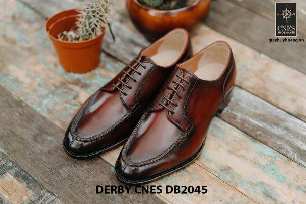 Giày da nam cột dây Derby CNES DB2045 001