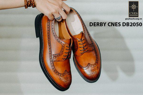 Giày da nam có dây Derby CNES DB2050 001