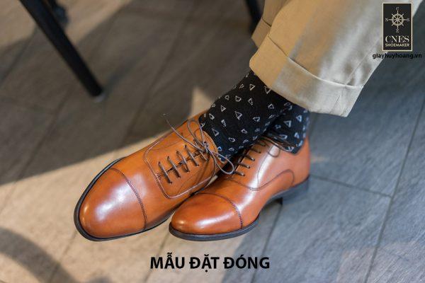 [Outlet size 43] Giày tây nam cổ điển Oxford Cnes CNS141 001