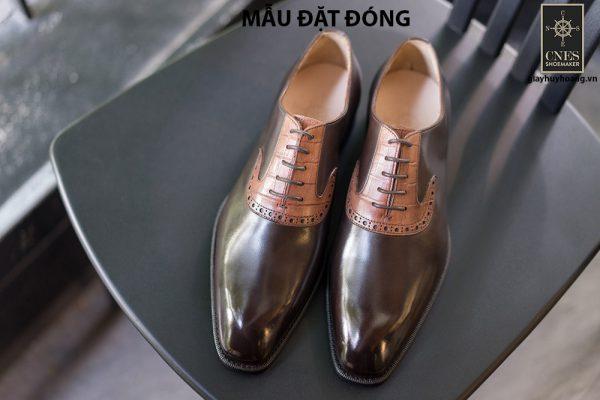 [Outlet size 42] Giày da nam thời trang Oxford Cnes Oxford 001