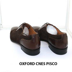 [Outlet size 41] Giày da nam buộc dây Oxford Cnes Pisco 004