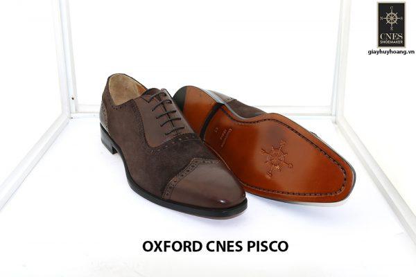 [Outlet size 41] Giày da nam buộc dây Oxford Cnes Pisco 003