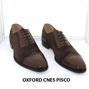 [Outlet size 41] Giày da nam buộc dây Oxford Cnes Pisco 001