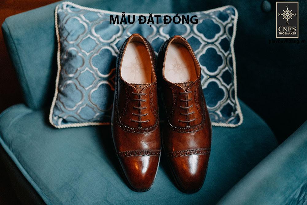 [Outlet size 44] Giày tây Oxford Brogues Cnes B52 tuyệt phẩm 001