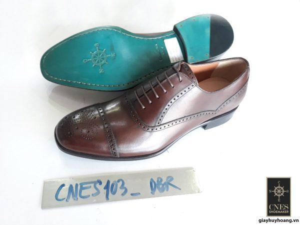 [Outlet size 41] Giày da nam Captoe Oxford Cnes CNS103 002