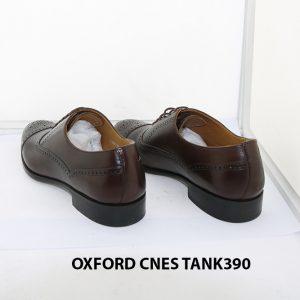 [Outlet size 38] Giày tây nam Brogues Oxford Cnes Tank390 004